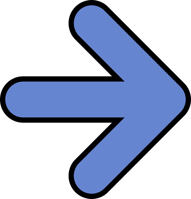arrow-right-blue-symbol-direction-pointing